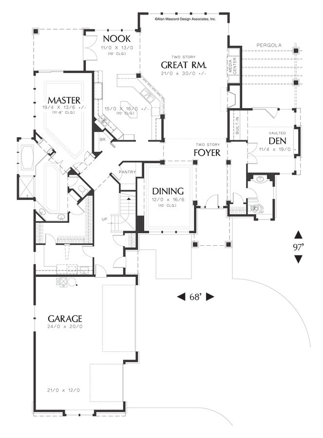 Equinox Private Dining Room Floor Plan Mascord House The Eastbourne