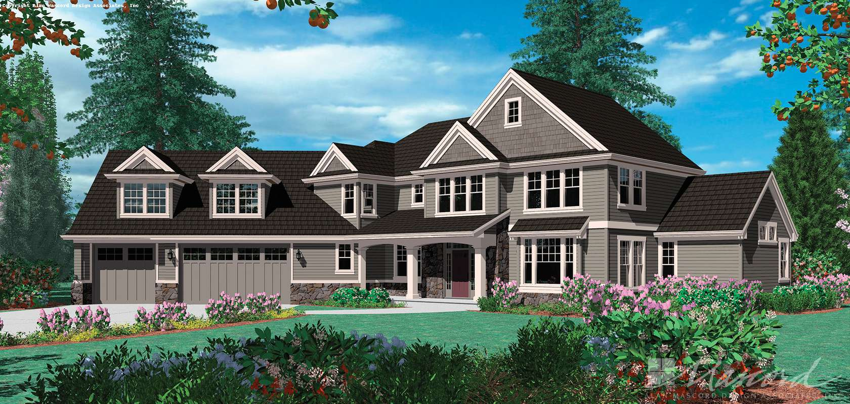 Mascord House Plan 2346: The Kaiser