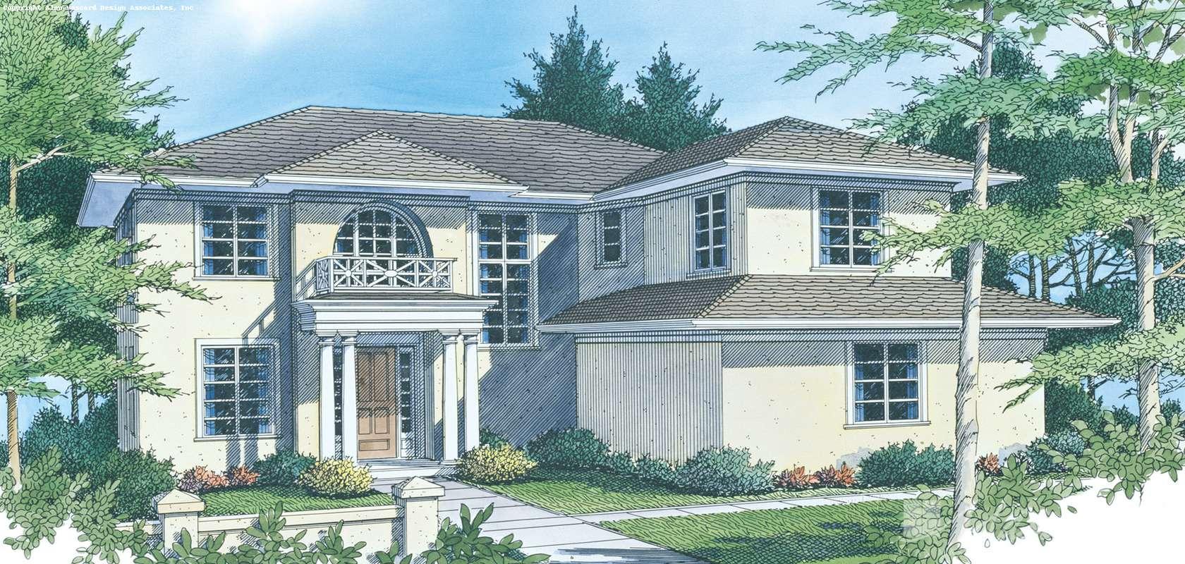 Mascord House Plan B2347: The Gardell