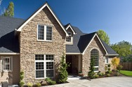 Front Exterior of Mascord House Plan 2351 - The Farnsworth