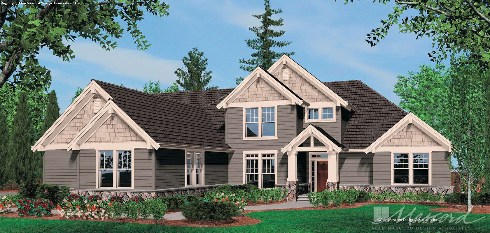 Mascord House Plan 2352B: The Amarantha
