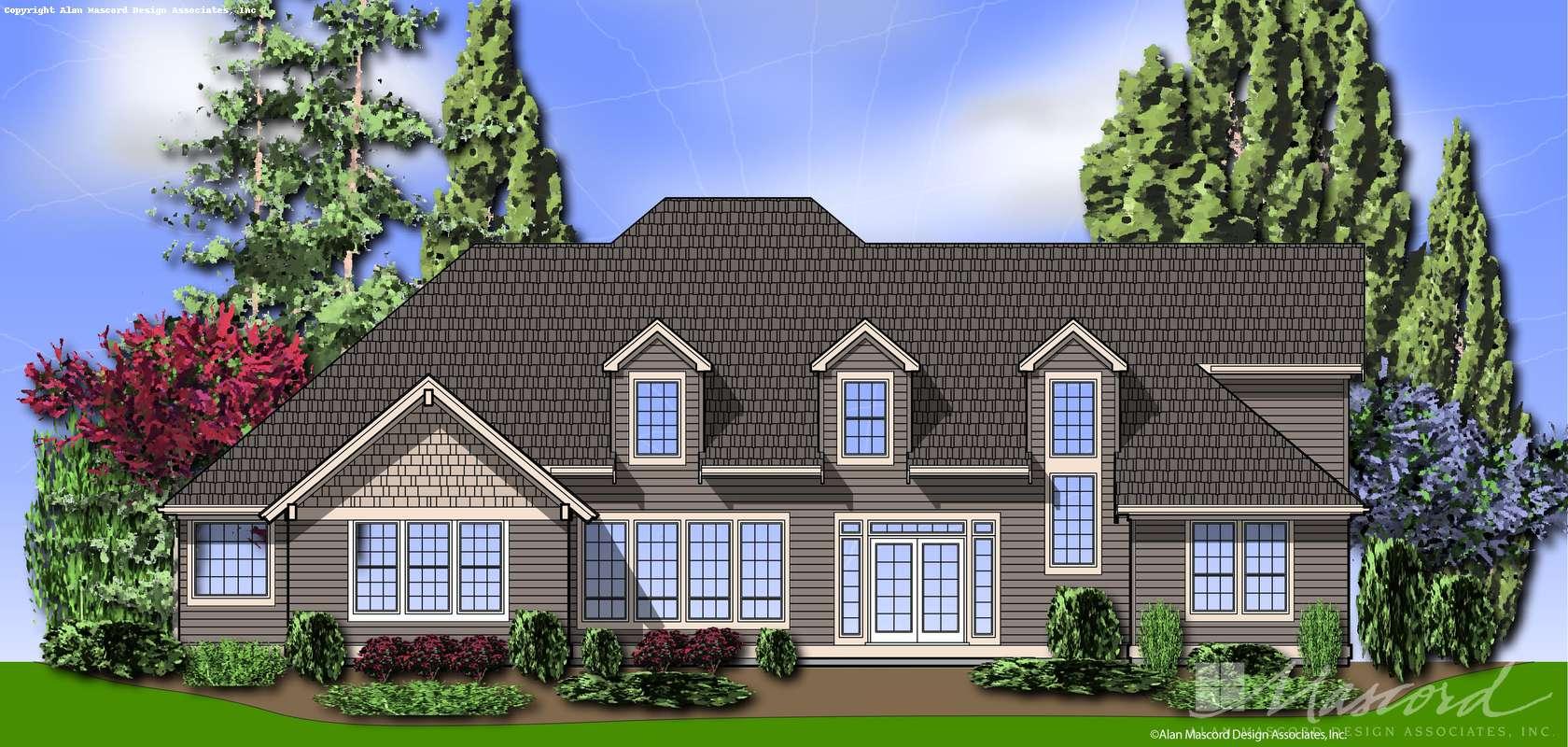 Mascord House Plan 2352B: The Amarantha