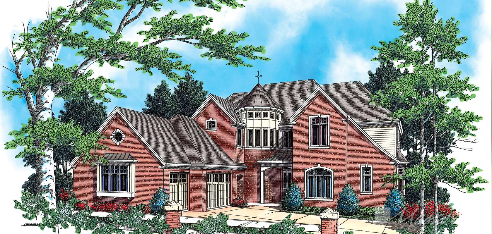 Mascord House Plan 2354: The Findlay