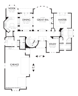 Ranch Style House Plans 1600 Sq Ft likewise 001h 0027 besides Dennis 324 besides ALP 01S4 the Belle Vista also Dartmouth 434. on 1 bedroom house plans 3 car side garage