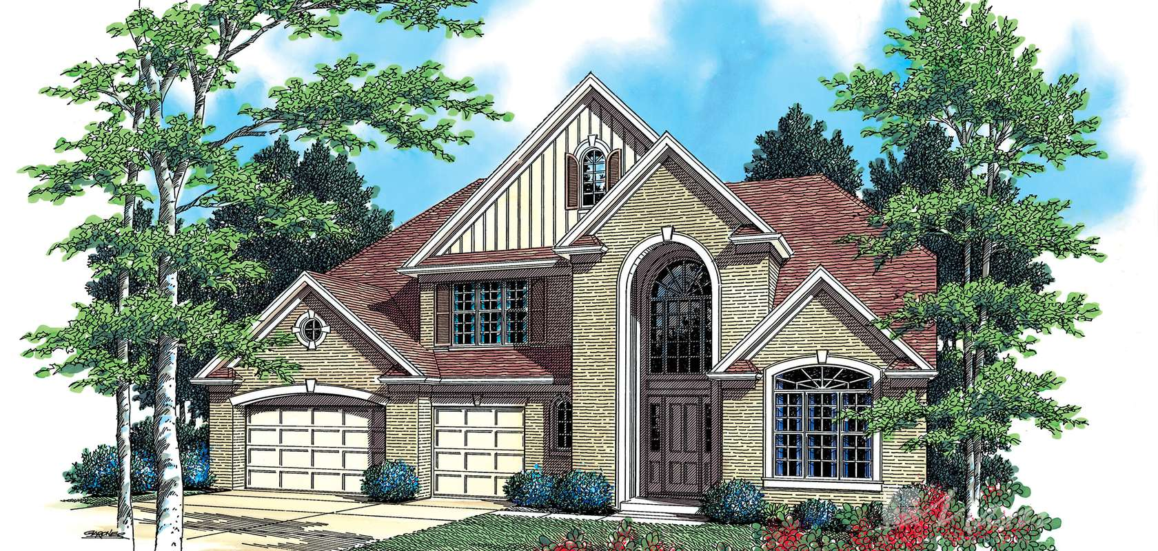 Mascord House Plan B2355: The Reynolds
