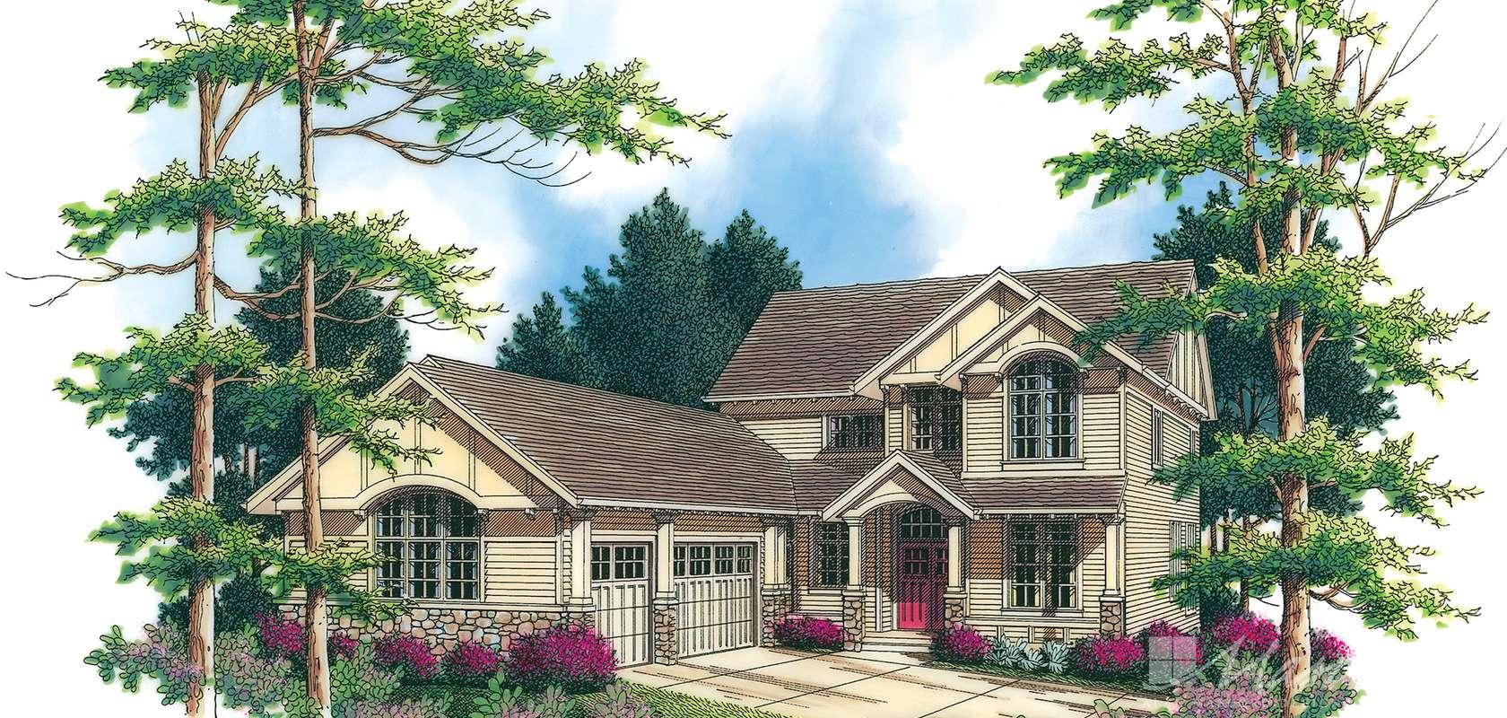 Mascord House Plan B2357: The Lafayette