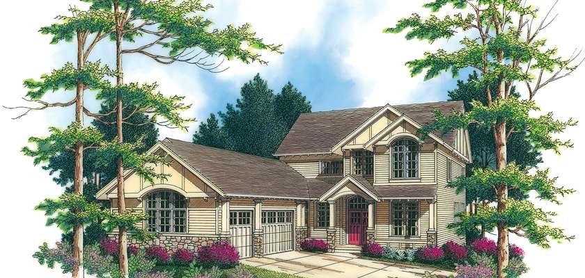 Mascord House Plan 2357: The Lafayette