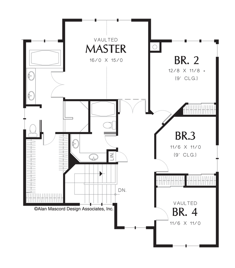 Craftsman House Plan 2357 The Lafayette 3254 Sqft 5