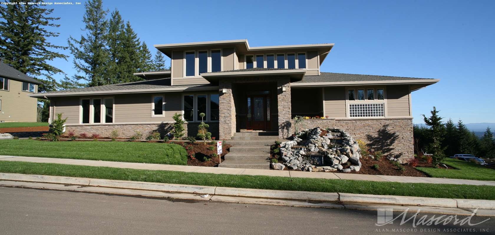 Mascord House Plan B2358: The Holwell