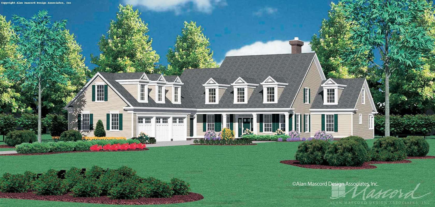 Mascord House Plan 2359: The Aldenham
