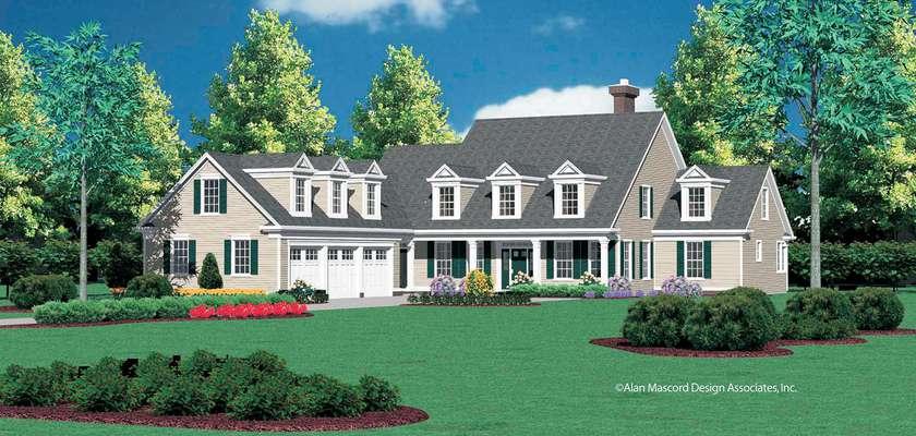 Mascord House Plan B2359: The Aldenham