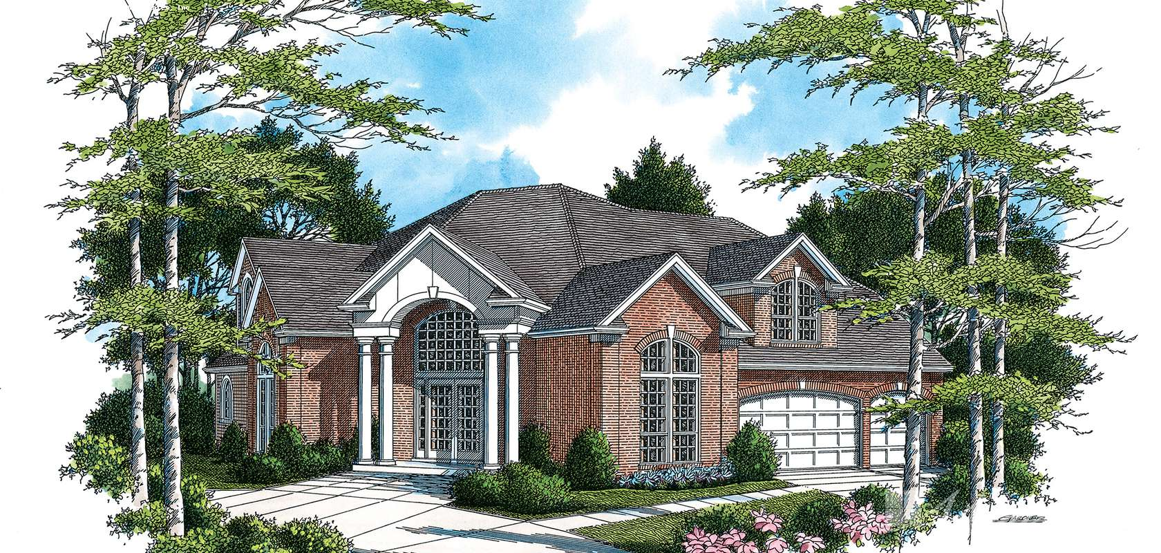 Mascord House Plan B2360: The Ingersoll