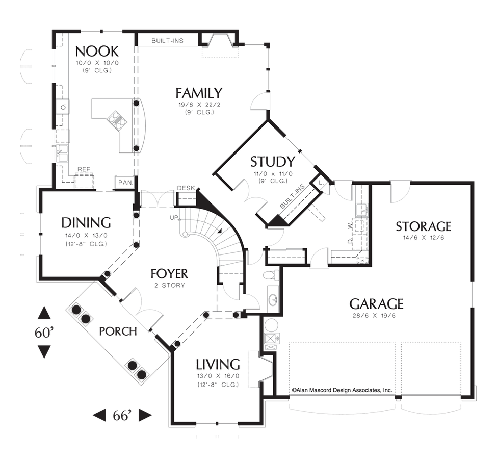 Colonial House Plan 2360 The Ingersoll 3633 Sqft 4 Beds