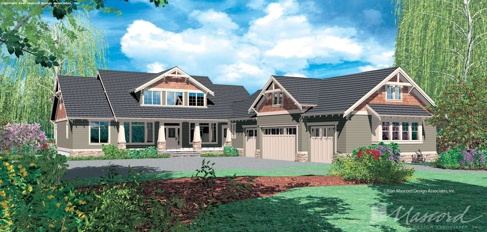 Mascord House Plan B2362: The Leesville