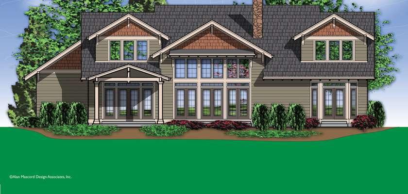 Mascord House Plan 2362: The Leesville