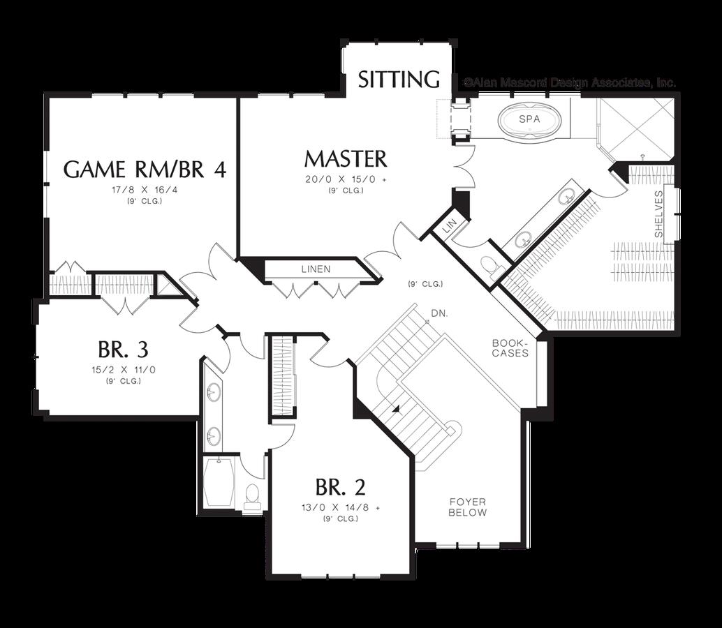 Craftsman House Plan 2363ea The Bradner 4026 Sqft 5