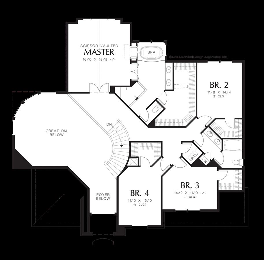 Cottage House Plan 2368 The Sedgwick 3402 Sqft 4 Beds 2 1 Baths