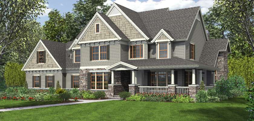 Mascord House Plan 2371: The Masonville