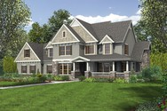 Front Rendering of Mascord House Plan 2371 - The Masonville