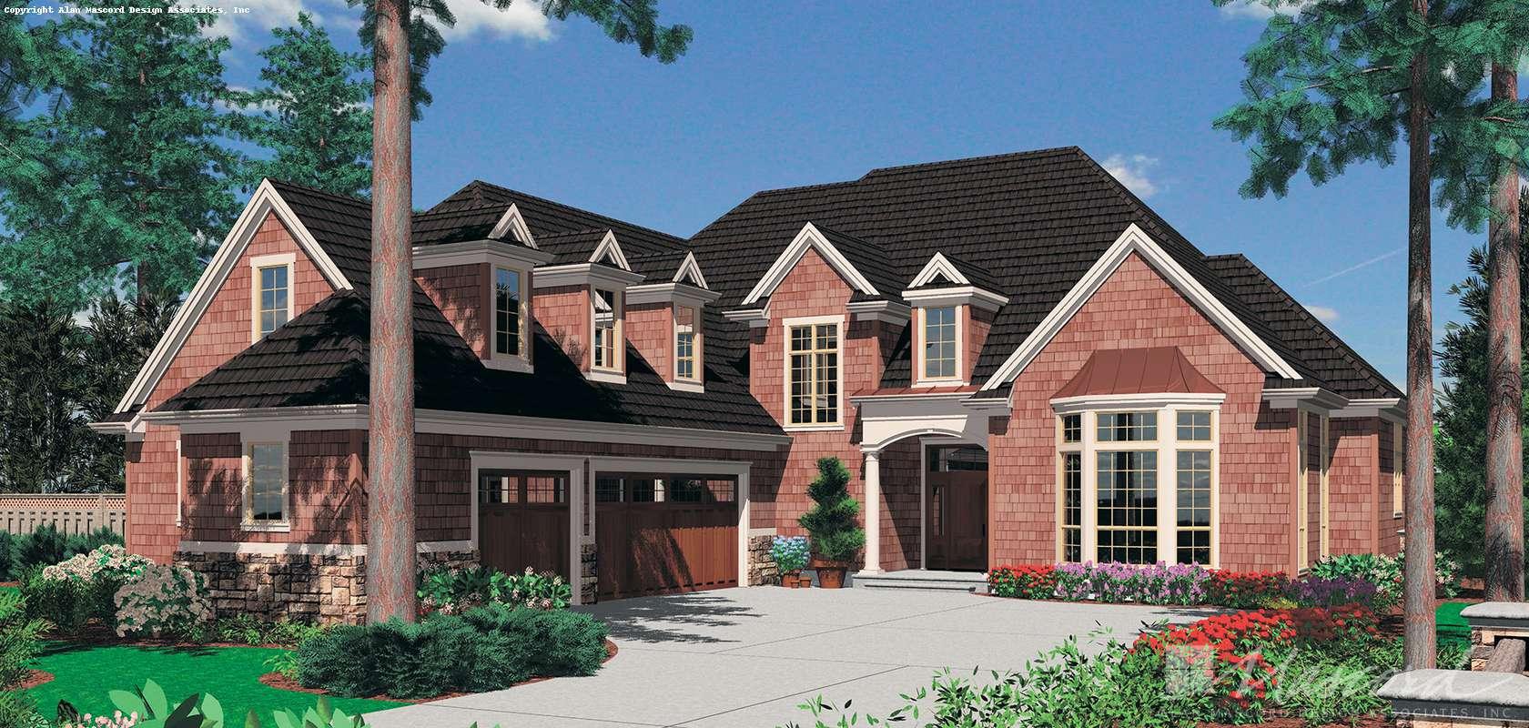 Mascord House Plan B2373: The Marlow