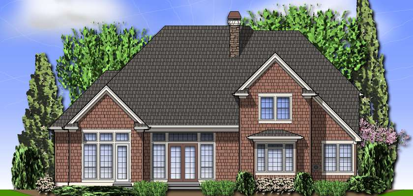 Mascord House Plan 2373: The Marlow