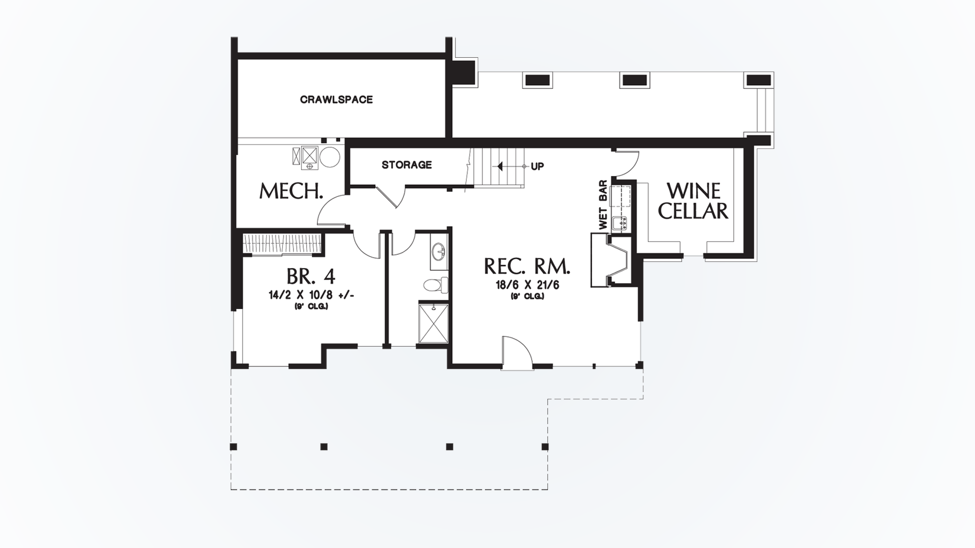 Craftsman House Plan 2374 The Clearfield: 3148 Sqft, 4 Bedrooms, 3.1 ...