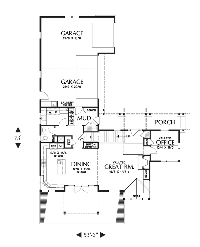 House Plan 2374 The Clearfield