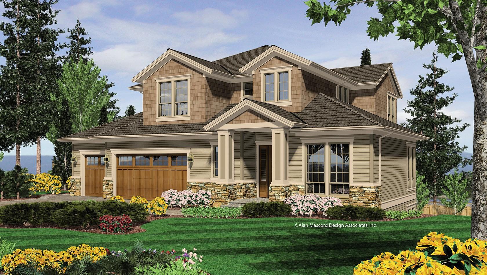 Main image for house plan 2376: The Bainbridge