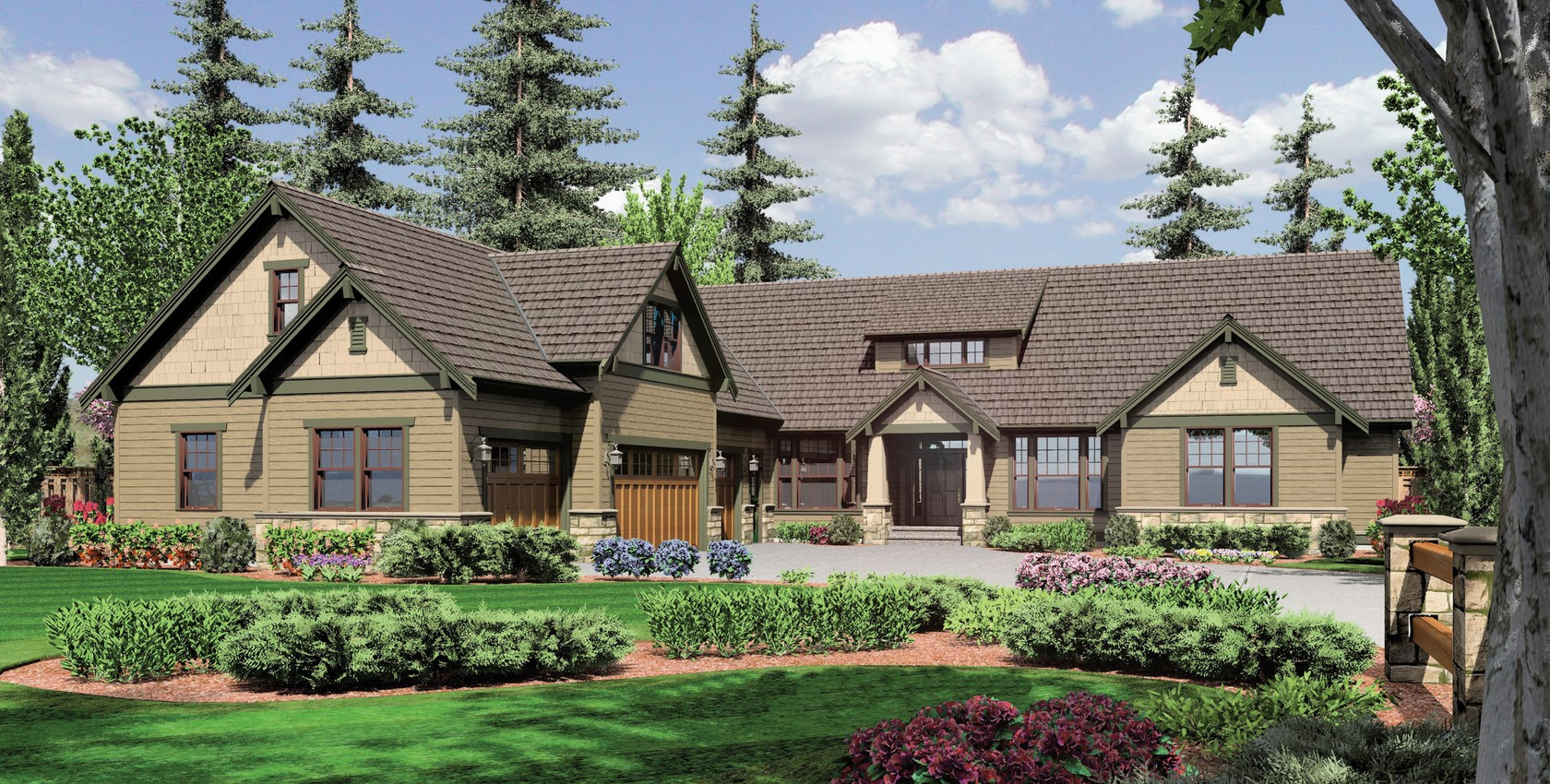 Image for Pineville-L-Shaped 4 Bedroom with Jack and Jill Bath-2343