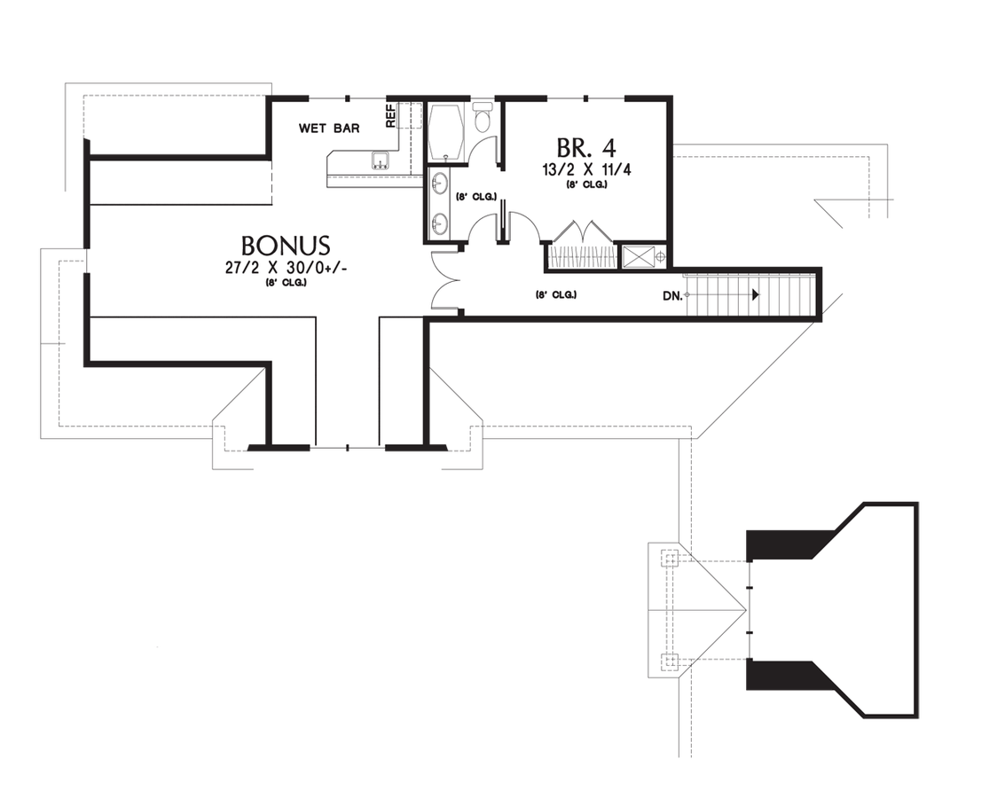 mascord house plan 2377 the pineville floor plans previous image for pineville l shaped 4 bedroom with jack and jill bath upper