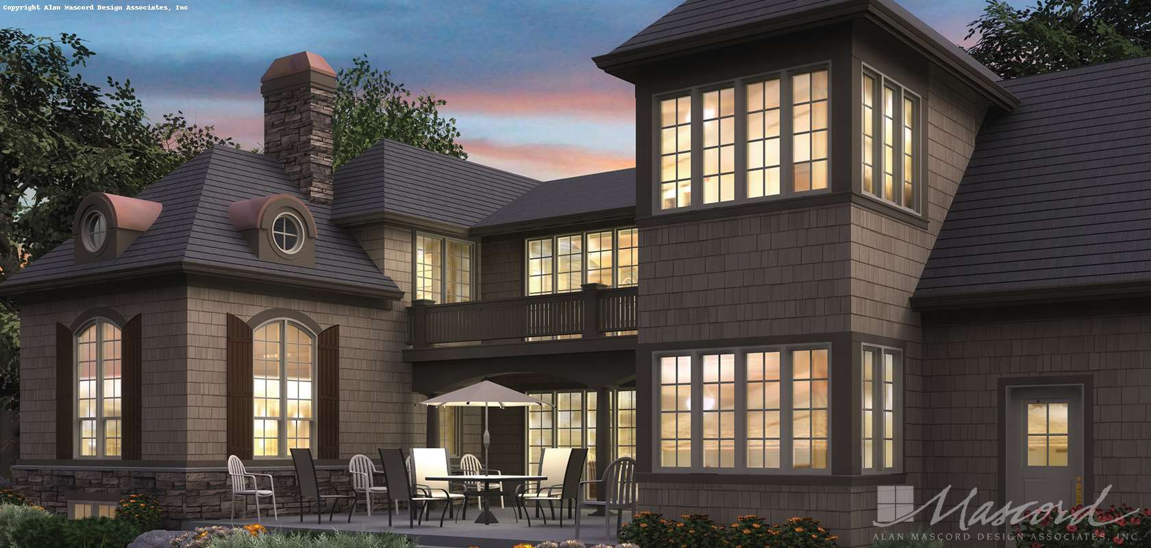 Mascord House Plan 2380: The Lisette