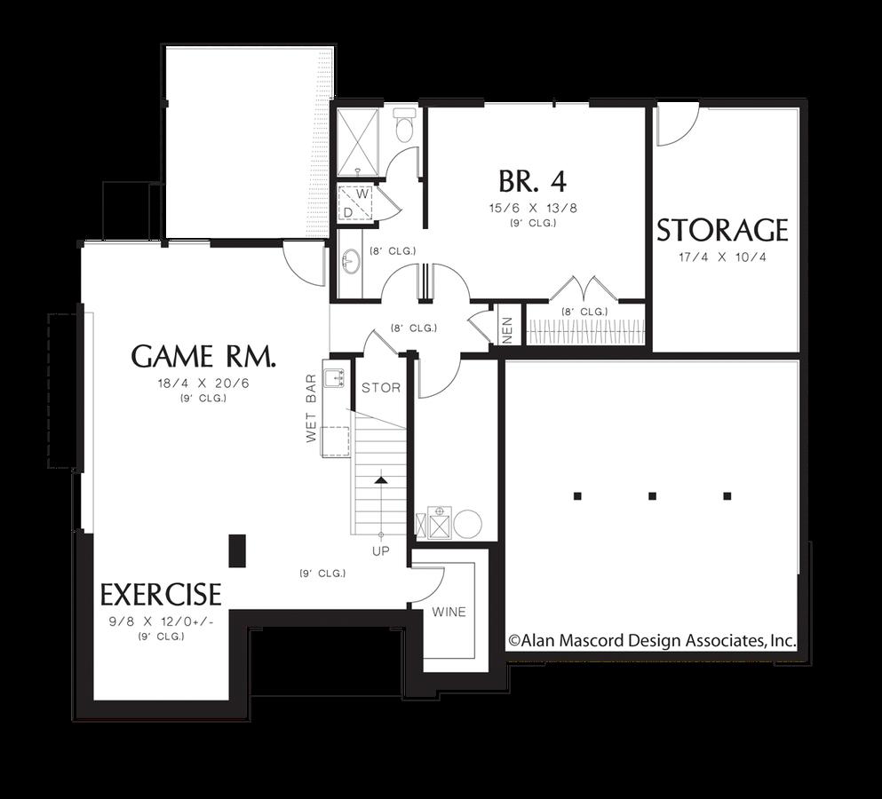 Prairie house plan 2381a the lomond 3741 sqft 4 beds 3 for Houseplans co
