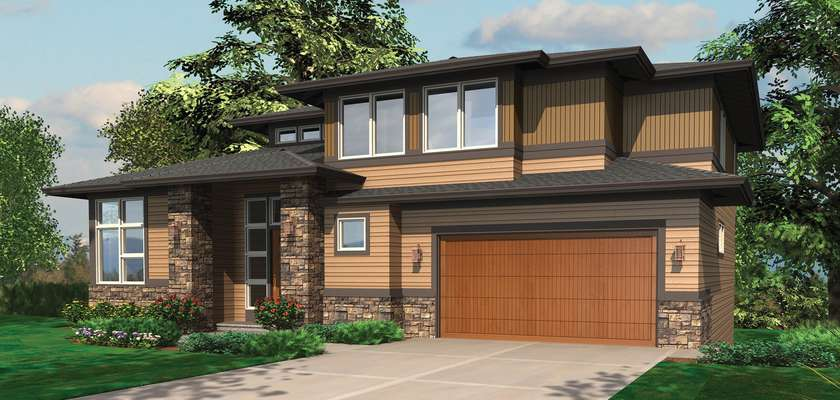 Mascord House Plan 2381B: The Allaire