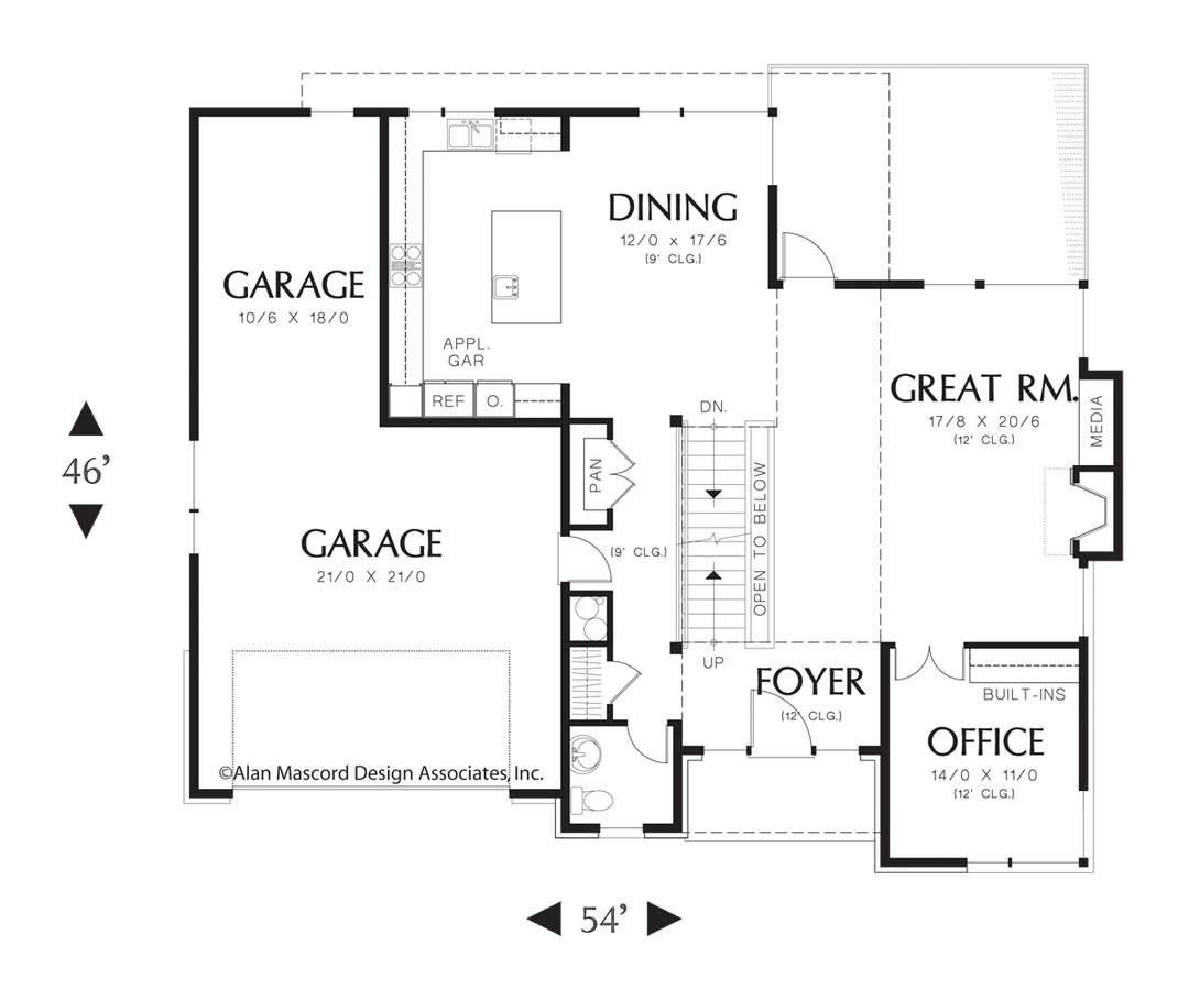 001g 0001 additionally 051h 0188 in addition 007g 0010 further Loft Perfect For Home Office Or Fifth Bedroom 23132jd besides Maine Inspired Oversized 2 Car Garage 12440ne. on 3 car tandem garage house plans