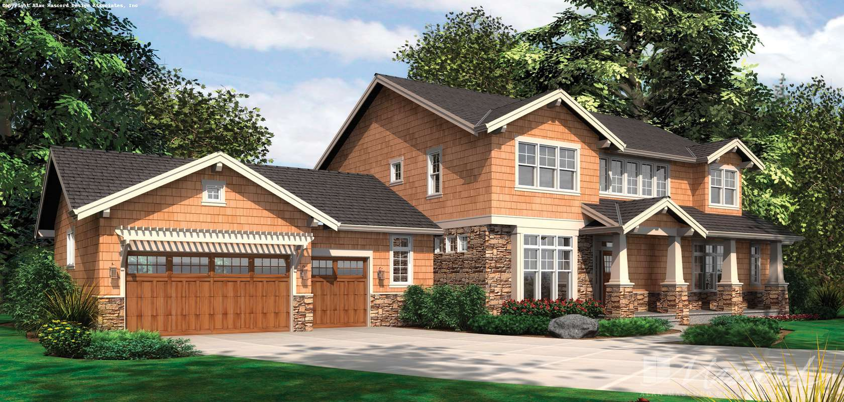 Mascord House Plan B2383: The Lofton