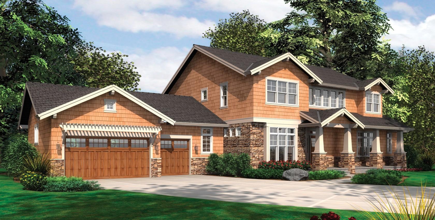 Mascord House Plan 2383 The Lofton