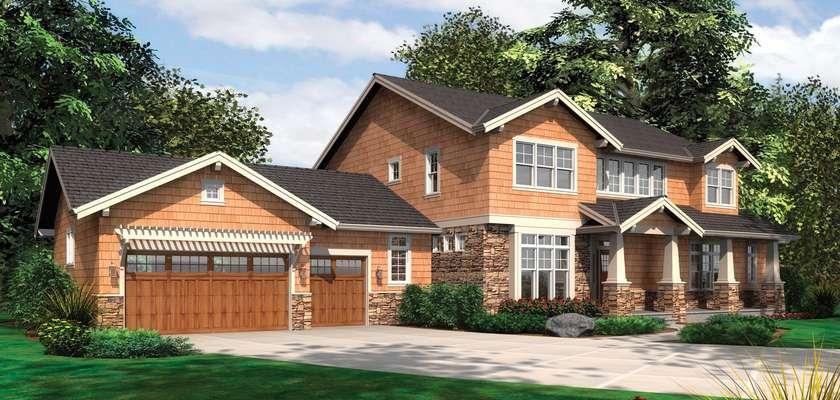 Mascord House Plan B2383: The Lofton