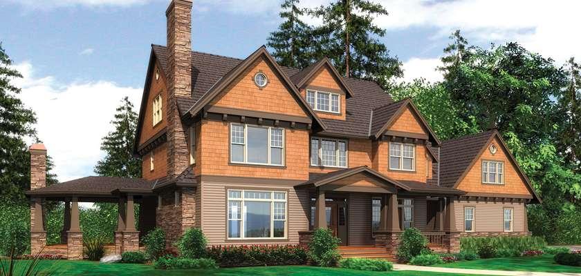 Mascord House Plan B2386: The Vicksburg