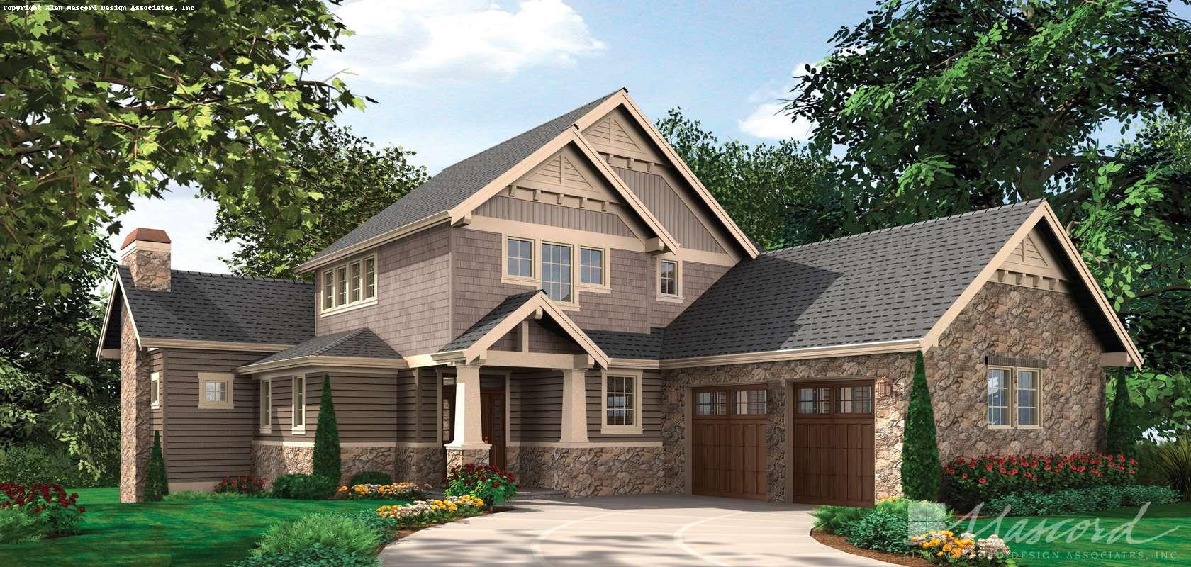 Mascord House Plan 2387: The Iverson