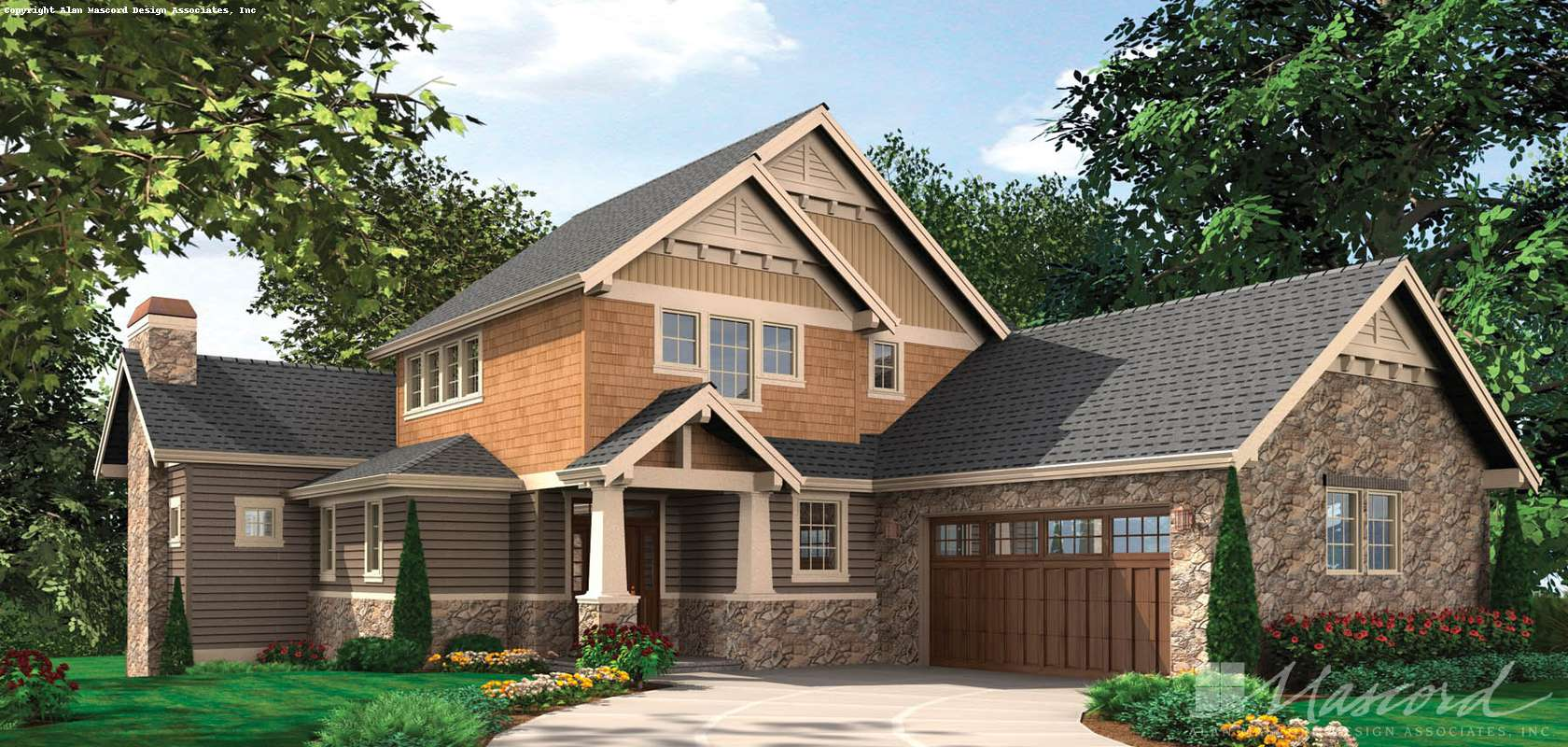 Mascord House Plan 2387: The Iverson