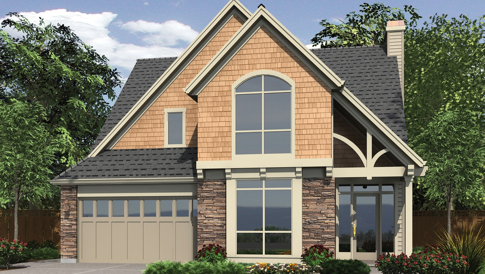 Main image for house plan B2388: The Sibley