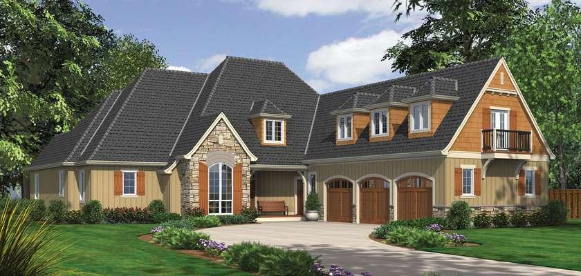 Mascord House Plan 2390: The Hamilton