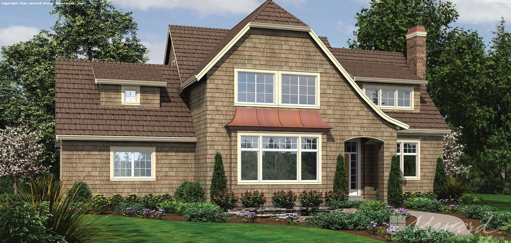 Mascord House Plan 2391: The Cannondale