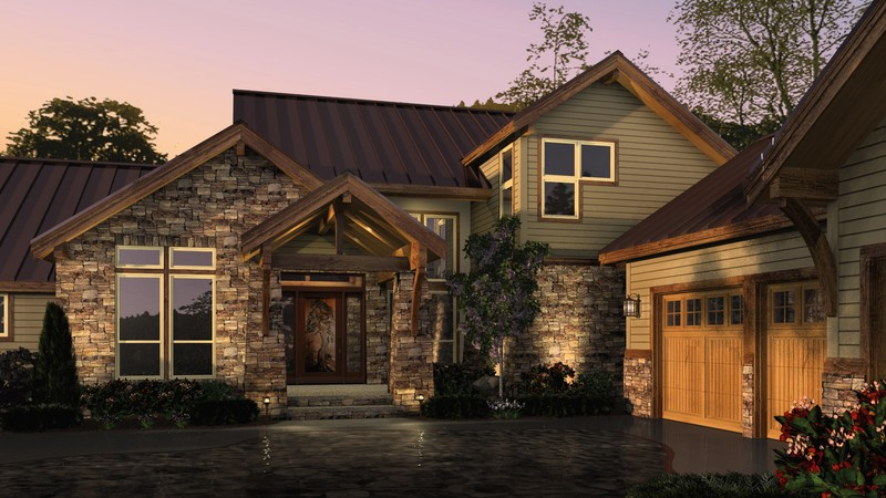 Mascord house plan 2393 the mountainview House plans mascord
