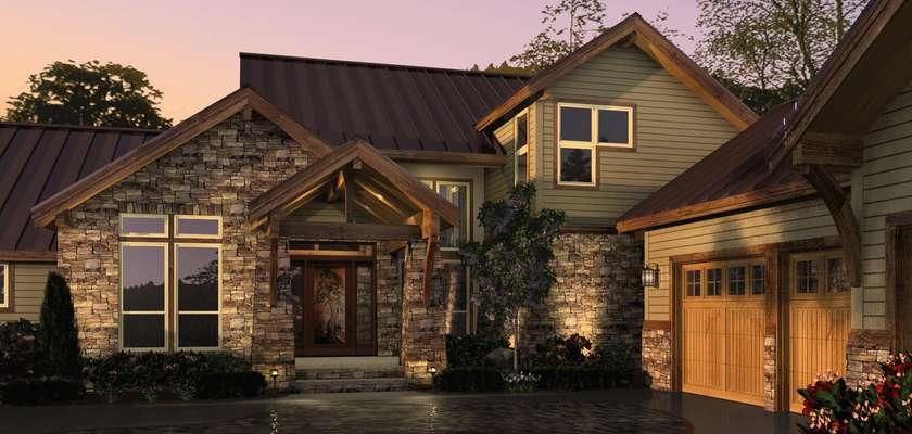 Mascord House Plan 2393: The Mountainview