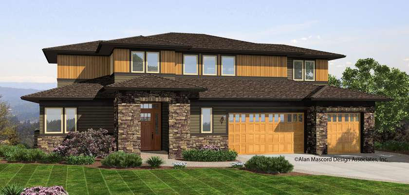 Mascord House Plan 2395: The Riverview