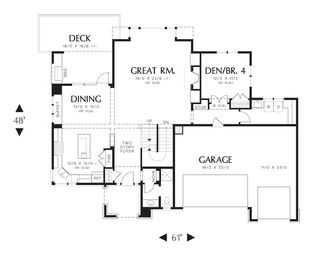 house plan 2395 the riverview