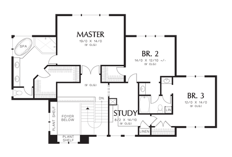 House plan 2395 the riverview floor plan details for Fun house plans