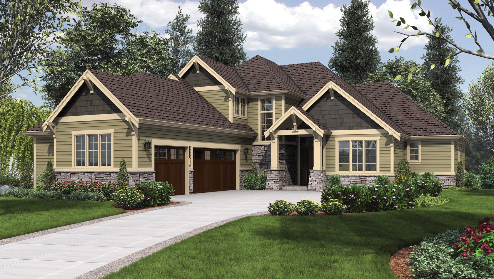 Main image for house plan 2396: The Vidabelo