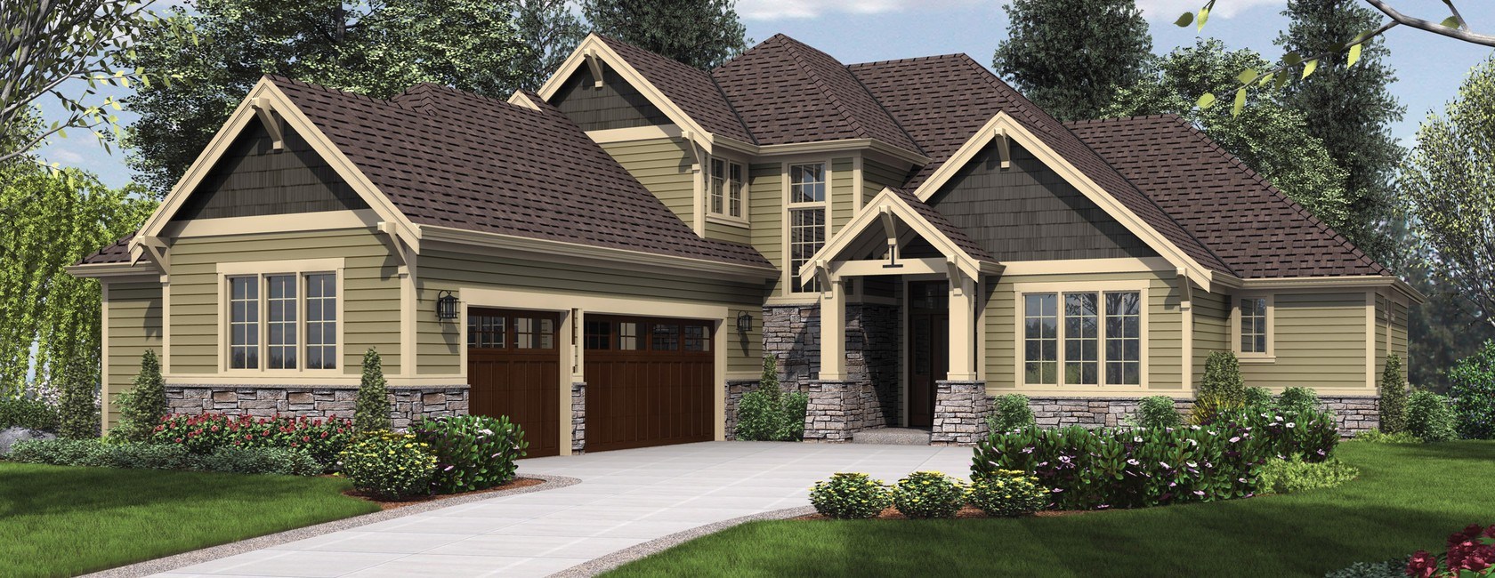 The vidabelo a multigenerational design house plan of for Multi generational home designs